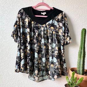 Umgee | Floral Swing Top
